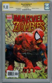 Marvel Zombies #1 2nd Print  CGC 9.8 Signature Series Signed Arthur Suydam Marvel Comic Book